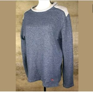 Women's Tommy Bahama Sweatshirt Blue Soft Large